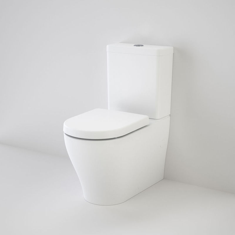 Caroma luna wall faced toilet suite simply pods