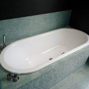 Kaldewei Centro Duo Oval Island Bath White - Navi